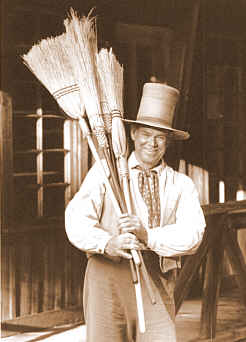 Useful, Decorative Handmade Brooms for Home, Blacksmiths and Gifts
